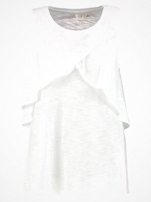 GAP SH SL LAYERED RFL Linne white