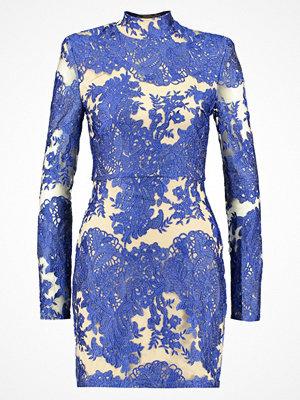 Missguided HIGH NECK BODYCON DRESS Cocktailklänning blue