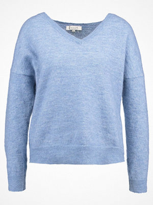 Selected Femme SFLIVANA Stickad tröja faded denim/melange
