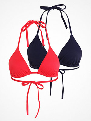 Zalando Essentials 2 PACK Bikiniöverdel red/dark blue