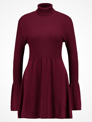 Vero Moda VMNORWALK GLORY SHORT DRESS Stickad klänning zinfandel