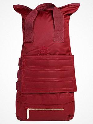 Adidas Originals ROLL TOP Ryggsäck burgundy mörkröd