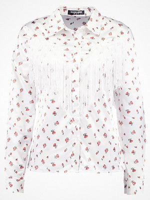 Fashion Union MARY LOU FRINGE Skjorta white