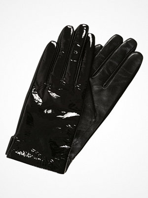 Handskar & vantar - Weekday SPACE LEATHER GLOVES  Fingervantar black patent