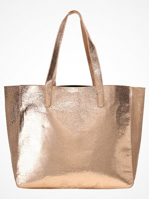 Even&Odd beige shopper Shoppingväska rose gold