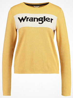 Wrangler INTARSIA  Stickad tröja honey gold