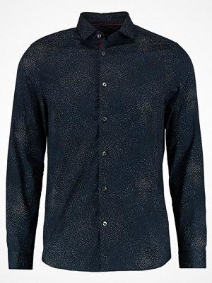Skjortor - Burton Menswear London NAVY PIXALLATED Skjorta navy