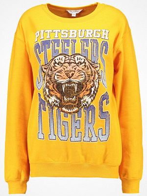 Miss Selfridge PITTSBURGH PRINT  Sweatshirt yellow