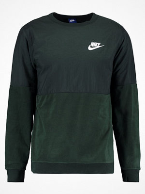 Nike Sportswear CREW WINTER Sweatshirt outdoor green/white