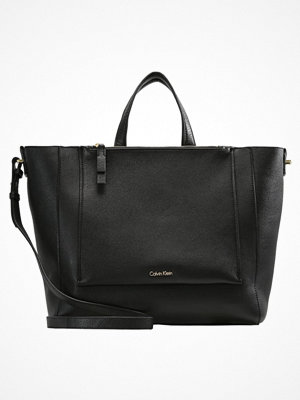 Calvin Klein svart shopper CONTEMPORARY Shoppingväska black