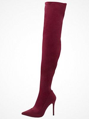 Topshop BELLINI Klassiska stövlar burgundy