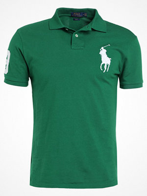 Polo Ralph Lauren BASIC MESH SLIM FIT Piké athletic green