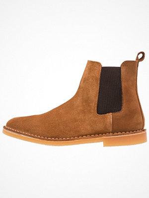 Boots & kängor - Selected Homme SHHROYCE CHELSEA BOOT Stövletter cognac