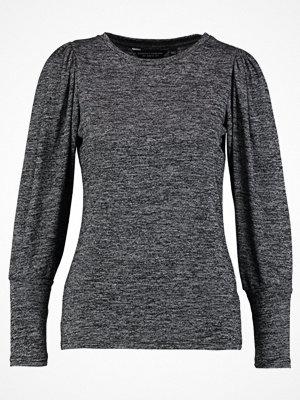 Dorothy Perkins PUFF SLEEVE Stickad tröja charcoal