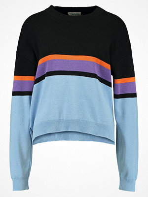 TWINTIP Stickad tröja light blue/multicoloured