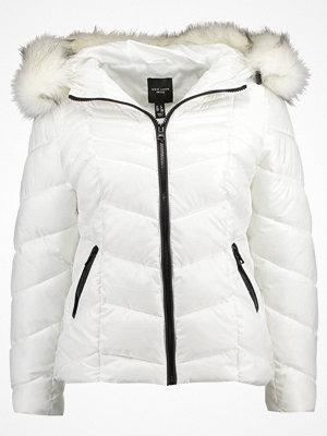New Look Petite CHEVRON HOOD Vinterjacka white