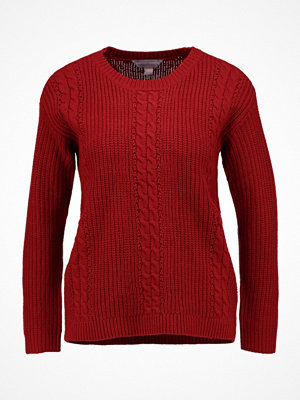 Dorothy Perkins Petite CABLE Stickad tröja red