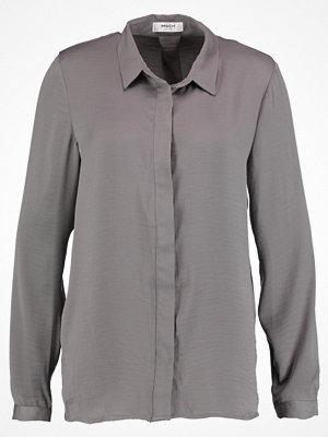 MOSS Copenhagen BLAIR Skjorta charcoal grey