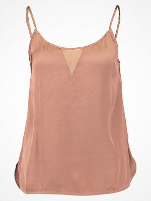 NA-KD NAKD DETAILED SINGLET Linne dusty pink