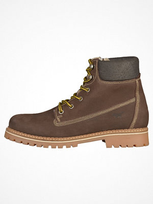 Boots & kängor - Mustang Snörstövletter dark brown