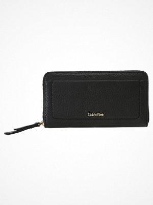 Calvin Klein CONTEMPORARY LARGE ZIPAROUND Plånbok black