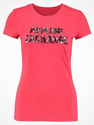 Armani Exchange Tshirt med tryck true red