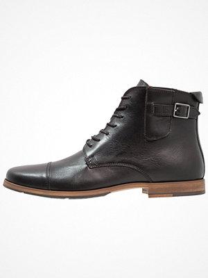 Boots & kängor - Schmoove BLIND BRITISH BROGUE Snörstövletter black