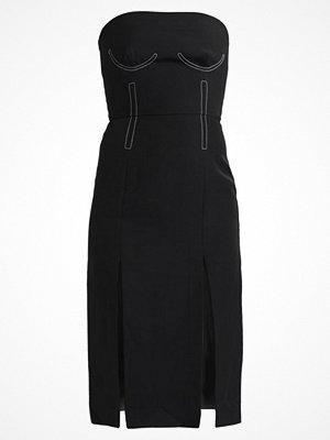 Topshop TOPSTITCH BARDOT Cocktailklänning black