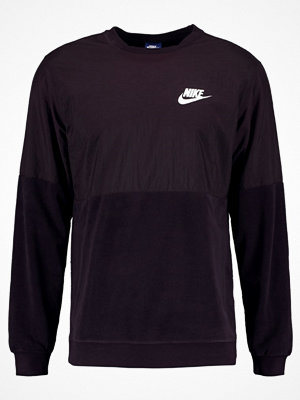 Nike Sportswear CREW WINTER Sweatshirt port wine/white