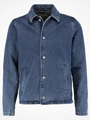 Jeansjackor - Topman 90S COACH Jeansjacka mid blue
