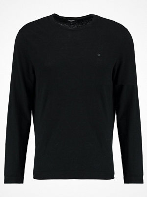 Calvin Klein SAUL CREW NECK Stickad tröja black