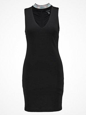New Look GO DIAMANTE CHOKER  Jerseyklänning black
