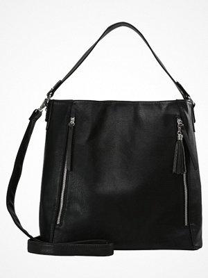 Anna Field svart shopper Shoppingväska black