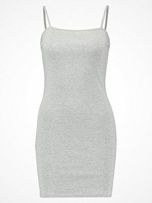 Topshop MINI BODYCON Jerseyklänning grey marl