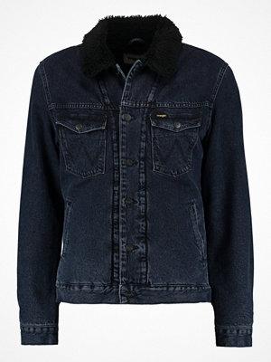 Jeansjackor - Wrangler SHERPA REGULAR FIT Jeansjacka blue black