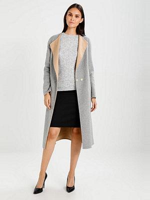 Dorothy Perkins BOW BACK Stickad tröja grey