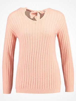 Dorothy Perkins BOW BACK Stickad tröja blush