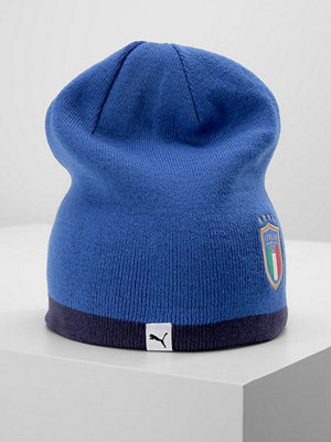 Mössor - Puma ITALIEN REVERSIBLE BEANIE Mössa team power bluepeacoat