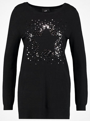 Wallis STAR SEQUIN JUMPER Stickad tröja black