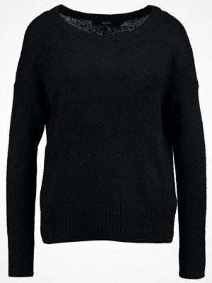 Vero Moda VMDUARTE BOATNECK BOO Stickad tröja black