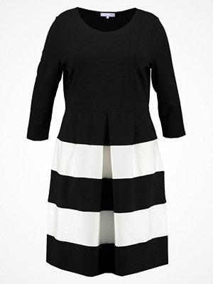 Anna Field Curvy Jerseyklänning white/black