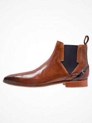 Boots & kängor - Melvin & Hamilton LANCE Stövletter tan/back/navy
