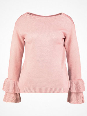 Dorothy Perkins FLUTE SLEEVE JUMPER Stickad tröja blush