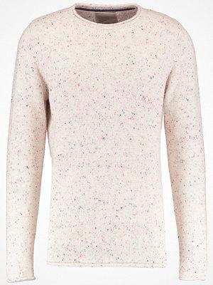 RVLT Stickad tröja white