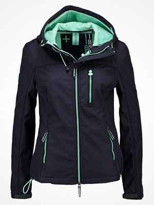 Superdry HOODED  Tunn jacka french navy/peppermint