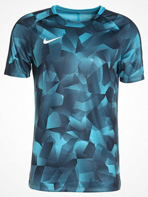 Sportkläder - Nike Performance Tshirt med tryck light blue fury/armory navy/white