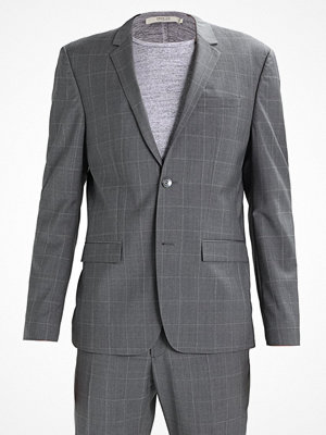 Calvin Klein TAD/PACE WINDOW PANE SUPER Kostym grey