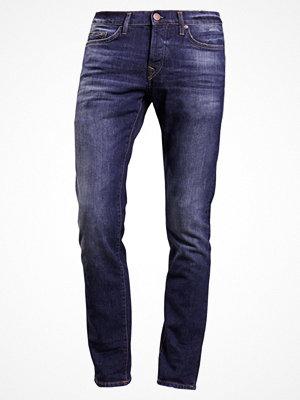 True Religion NEW ROCCO Jeans straight leg cobald blue