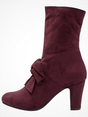 Tamaris Stövletter burgundy