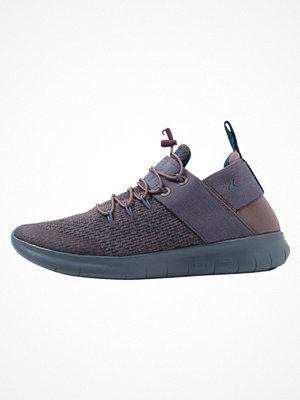 Sneakers & streetskor - Nike Performance FREE RUN CMTR 2017 PREMIUM Löparskor taupe grey/armory blue/green abyss/black